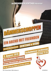 Dämmerschoppen gemeinsam mit dem Musikverein Gföhl @ Schulwiese Lichtenau